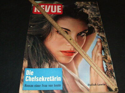 "Daliah Lawie (Lavi) … on cover … german magazine ""REVUE"" … 1961"