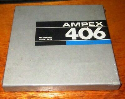 One Roll of Ampex 406 Audio Tape. Unopened.