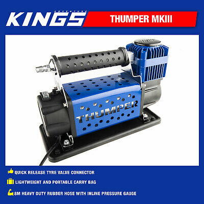 Portable Truck Tyre Air Compressor 4WD 4x4 Drive Inflator
