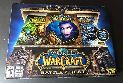 World of Warcraft Battle Chest (PC / DVD-ROM) NEW