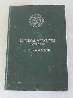 Eimer & Amend Chemical Apparatus Assay Goods Laboratory Supplies Catalog 1905