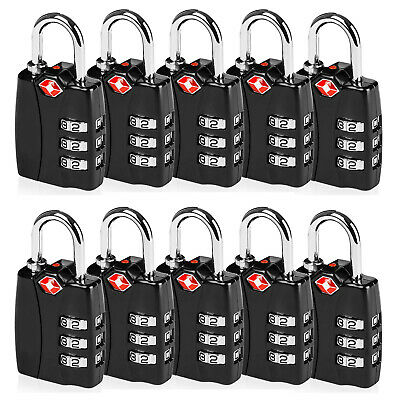 Heavy Duty [TSA Approve] Travel Bag Suitcase Luggage Lock Padlock |US Wholesale|