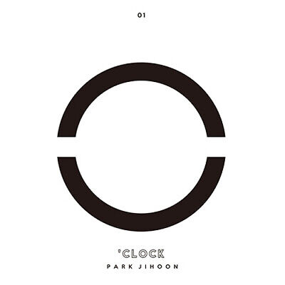 PARK JIHOON [O'CLOCK] 1st Mini Album CD+POSTER+Photo Book+4p Card K-POP SEALED