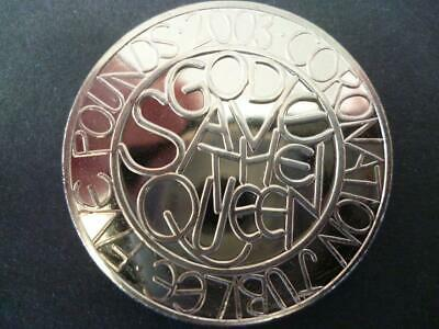 2003 £5 Coin (Crown)  The Queens Coronation Jubilee 2003 Five Pounds Coin