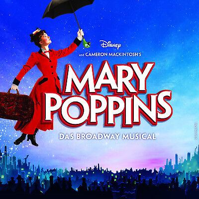 Musical-Paket: Ticket+Getränke: Mary Poppins am 14.07.2019 in Hamburg