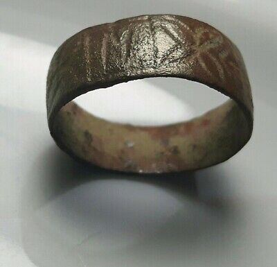 WEDDING BAND ** Bronze RING ** M