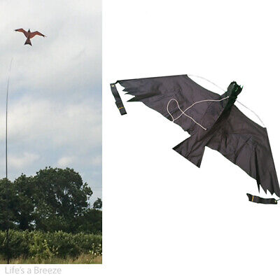 Hawk kite kit Bird scarer Protect Farmers crops comes with 8 meter pole