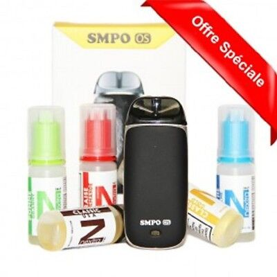 Pack smpo os + 5 nextra 20 mg:l sels de nicotine