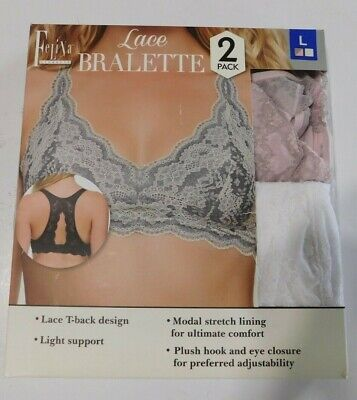 232cab4b1fbff3 MAIDENFORM LACE T-BACK Bralette Pink Pirouette Size Small S NEW  45 ...