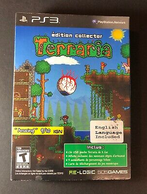 Terraria Collector's Edition [ FRENCH Cover ] (PS3) NEW