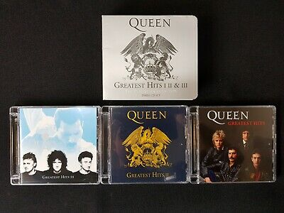 Queen Greatest Hits I II & III Platinum Collection 3 CD Digital Remaster 2011