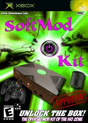 Original Xbox Softmod  2018 VERSION  USB only Region Free Snes N64 Coinops