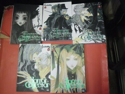 Horror Collector- Serie Completa 1/5- Di:lee So-Young- Manga J Pop