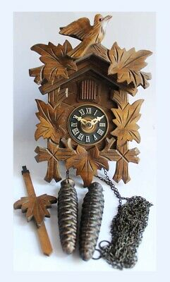 Antique German Black Forest Wall Cuckoo Clock. Needs Servicing or Repair.