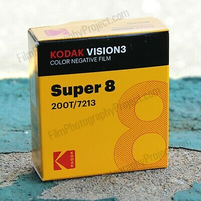 Super 8 Film - Kodak 200T / 7213 Color Negative