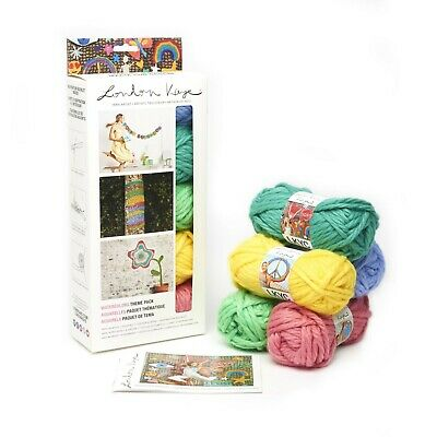 Lion Brand Yarn 3001-622 London Kaye Theme Packs Yarn, Watercolors