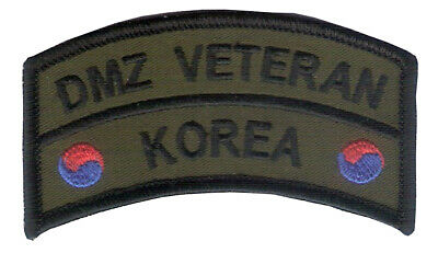 DMZ Tab - Republic of Korea Embroidered Tab - DMZ - Korean DMZ - 38th Parallel
