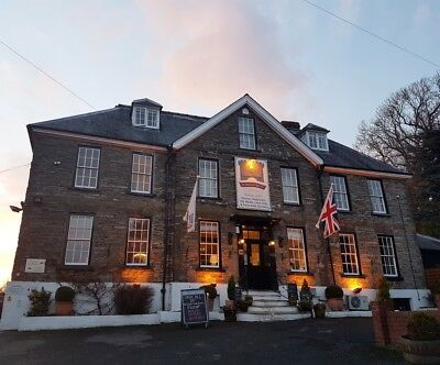 1 Night B&B Stay Voucher for 2 at The Castle Hotel, Bishop's Castle, Shropshire