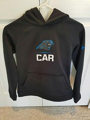 hot sale online 97f49 47d48 UNDER ARMOUR CAROLINA Panthers Hoodie Mens Small Nwt 1288440 ...