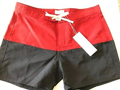 2fe854585a1f4 SATURDAYS SURF NYC BOARD SHORTS SWIM SURF TRUNKS BATHING SUIT Size 31 Red  Blue