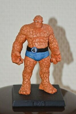 THE THING/LA CHOSE, figurine en plomb Collection officielle Marvel