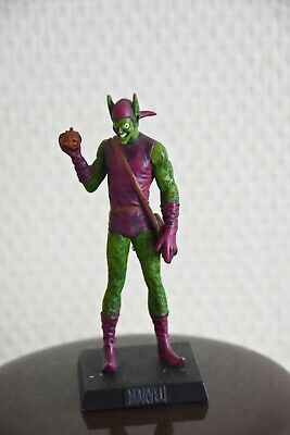 THE GREEN GOBLIN/LE BOUFFON VERT, figurine en plomb Collection officielle Marvel