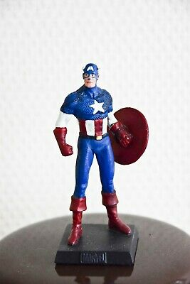 CAPTAIN AMERICA, figurine en plomb Collection officielle Marvel