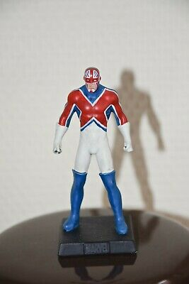 CAPTAIN BRITAIN, figurine en plomb Collection officielle Marvel