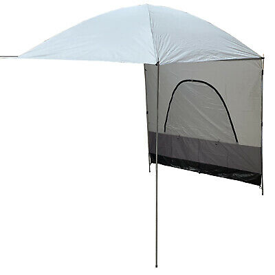 CAMPERVAN 3m x 3m SUN CANOPY AWNING with SIDE WALL motorhome caravan 4 x 4