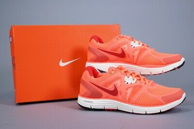 92fc10f8a297e Nike Lunarglide +3 Bright Mango Athletic Running Shoes ~ Women S Size Us 9