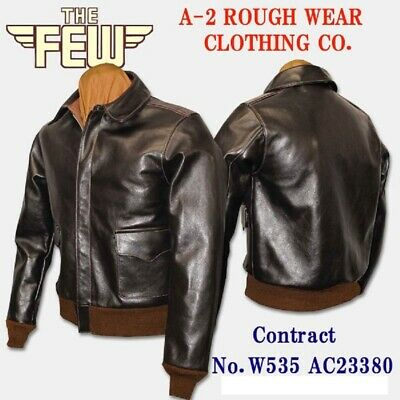 WW2 A-2 flight Jacket Reproduction THE FEW size 38