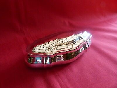 Lovely 1902 Solid Silver Table Box,trinket Box.by Henry Matthews Birmingham.