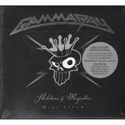 Gamma Ray CD Squelettes And Majestés / Oreille Music scellé 4029759065425
