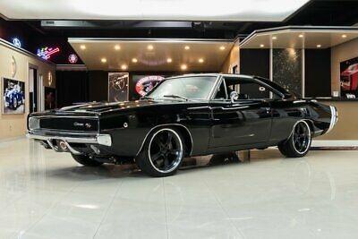 1968 Dodge Charger R/T Pro Touring Rotisserie Built R/T! # Matching 440 V8 w/ EFI, Automatic, Wilwood, PS, PB, A/C