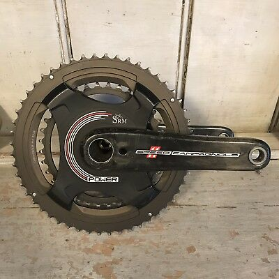 Campy BRAND NEW SRM Campagnolo Standard 4-Bolt Power Meter 145 BCD 52//36