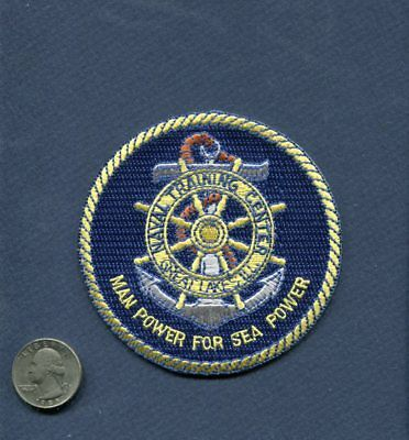 NTC NAVAL TRAINING CENTER GREAT LAKES IL US Navy Squadron Ship Patch