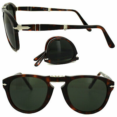 Persol 714 24/31 95/31 52-54  Sunglasses Sole Pieghevole Folding Avana Black