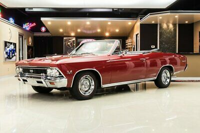 1966 Chevrolet Chevelle SS Convertible Frame Off, Rotisserie Restored! 138 SS, 396ci V8, TH400 Automatic, PS, PB, Docs
