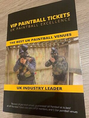 Vip Paintball Experiance For 8 People Various Locations Gear ,Guns, Balls Inc
