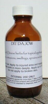 Dit Da Jow Chinese Herbal Liniment 100mL Aged 35 years