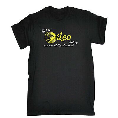 Funny Kids Childrens T-Shirt tee TShirt - Star Sign Its A Leo Thing You Wouldnt