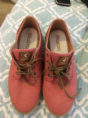 Kustom Ladies Rust Denim Casual Shoes EU 38.5 (worn Once)