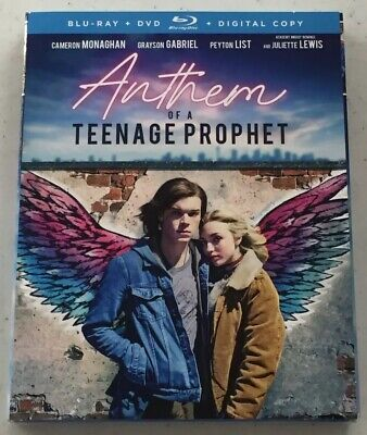 Anthem Of A Teenage Prophet (Blu-Ray + DVD, 2018) -Brand New *Free Shipping*