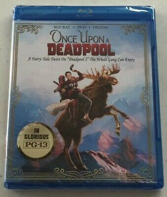 One Upon a Deadpool 2 (Blu-Ray + DVD + Digital, 2018) -Brand New *Free Shipping*