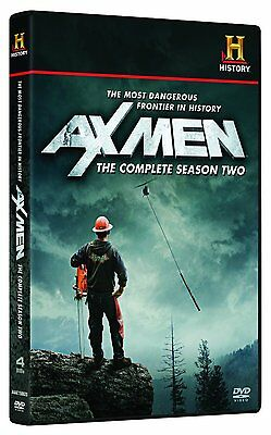 AX MEN Complete Second Season 2 Two DVD Set Series TV Show History Channel Doc 4