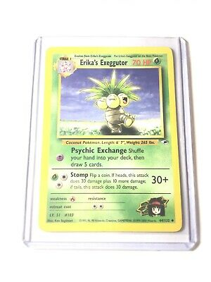 POKEMON POCKET JAPANESE CARD CARTE ERIKA/'s EXEGGUTOR #103 NO RARITY SYMBOL **