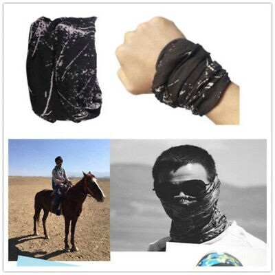 Outdoor Unisex Sports Cycling Motorcycle Gaiter Mask Scarf Headwear Neck Magic