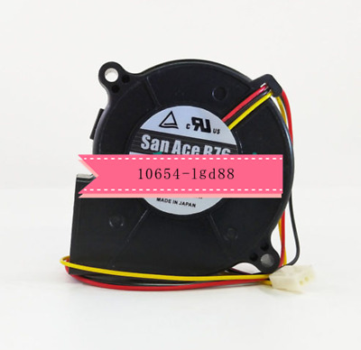 for Sanyo San Ace B76 Blower Fan 9BD12SC6-2 3 Wire Fan DC 12V @6