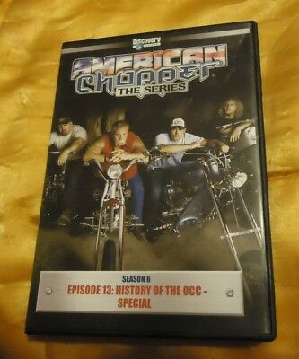 AMERICAN CHOPPER:Season 6 EPISODE  13 HISTORY OF THE OCC-SPECIAL DVD VIDEO MOVIE