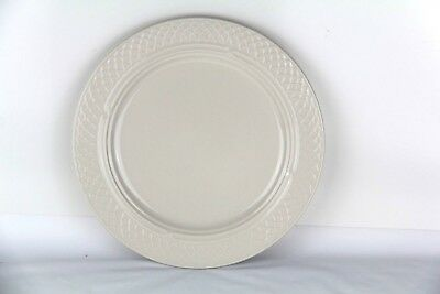 "New Homer Laughlin China 33800S Gothic 9.75"" Luncheon Plate eggshell 12/CS (P12)"